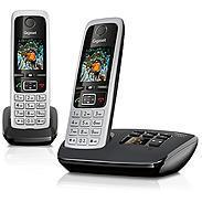 Gigaset Mobiltelefon mit AB schwarz C430A Duo sw