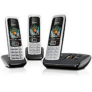 Gigaset Mobiltelefon mit AB schwarz C430A Trio sw