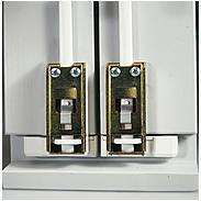 Abus FOS550A W AL0089 Alarm Fensterschloss weiß