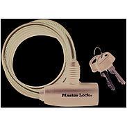 Masterlock 8126EURDPRO Kabelschloss m. Schlüssel