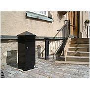 Safepost 110 Briefkasten schwarz