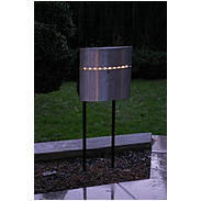 Safepost 12-4 LED Briefkasten anthrazit/silber
