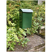 Safepost 14 kleiner Sicherheitsbriefkasten grün
