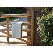 Safepost 14 kleiner Sicherheitsbriefkasten weiß
