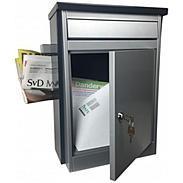 Safepost 28 Briefkasten mit Zeitungsfach