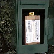Safepost 80 Paketbriefkasten grün