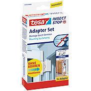 tesa® Fliegengitter Adapterset Alu Comfort weiß