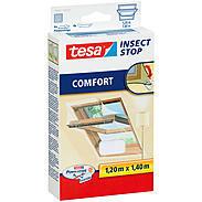 tesa® Klett Comfort für Dachfenster 120x140 weiß