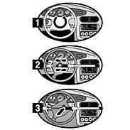 Masterlock 263EURDAT Lenkradschloss fürs Auto