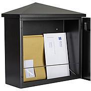 Heibi Briefkasten Pina 64283-028 Schwarz / Glimmer
