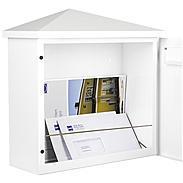 Heibi Briefkasten Pina 64283-034 Weiß