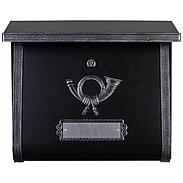 Heibi Briefkasten Multi 64104-026 Schwarz / Antik
