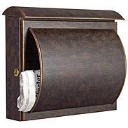 Heibi Briefkasten Quelo 64158-002 Braun / Gold