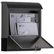 Heibi Briefkasten mit Zeitungsfach 43802-050