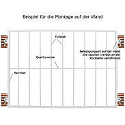 Tiamat Fenstergitter Einbruchschutz Modell A