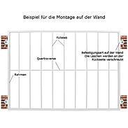 Tiamat Fenstergitter Einbruchschutz Modell D