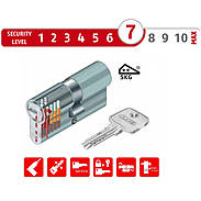 Abus EC550, ECK550 - Halb-, Knauf-, Profilzylinder