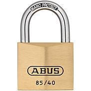 Abus 85/40 Messing-Vorhängeschloss