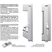 DENI Fenster-Stangenschloss SVG Basisbeschlag