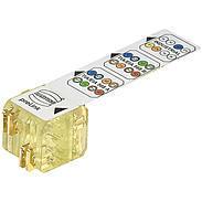 MONACOR H-20820000001 preLink-Abschlussblock, gelb
