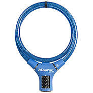 Masterlock 8229 blau Kabelschloss Zahlencode