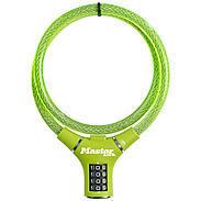 Masterlock 8229 grün Kabelschloss Zahlencode
