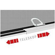 Teleskop-Fensterbausatz FAST 120 x 140cm anthrazit