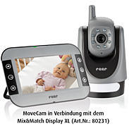 reer Mix&Match MoveCam Babyeinheit Video-Babyphone