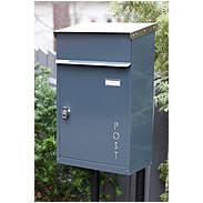 Safepost 42-6 Briefkasten schwarz