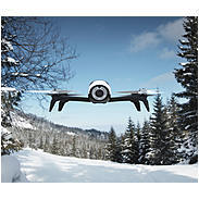 Parrot Bebop 2 Drohne schwarz/weiß