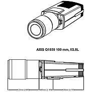 AXIS Q1659 IP-Kamera 2160p T/N 100 mm PoE