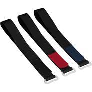 Klettverschluß Klettband 30cm lang, 2cm breit, rot