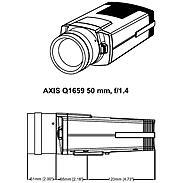 AXIS Q1659 IP-Kamera 2160p T/N 50 mm PoE