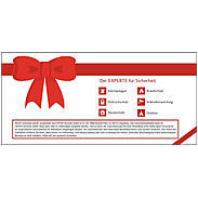 10 EURO Geschenkgutschein - EXPERT-Security.de