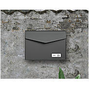 Mefa Briefkasten Letter (113) Basaltgrau