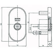 IKON Zylinderabdeckung 1087 F1