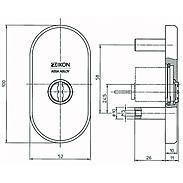 IKON Zylinderabdeckung 1087 F2
