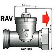 LUPUS - 12174 - Heizkörperadap Danfoss RAV-Ventile
