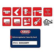 Abus XP20S Nachschlüssel nach Sicherungskarte