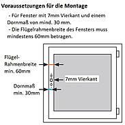 Abus HomeTec Pro FCA3000W Antrieb + Fernbedienung