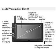 Indexa DF270M Ersatz-Monitor