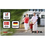 Mefa Briefkasten Letter (112) Tiefschwarz