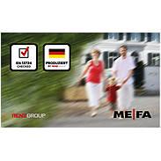 Mefa Briefkasten Sonate (131) Tiefschwarz