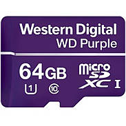 Western Digital Purple microSDHC Card 64GB