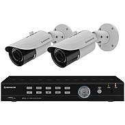 Monacor AXZ-204BVM Video-Überwachungsset 4-Kanal