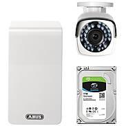 ABUS TVVR36510T IP-Video 6-Kanal WLAN Komplettset