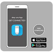 ekey uno Akku-Fingerscanner mit Smartem Türschloss