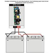 APS-1012 Puffernetzteil 230V/10A/12VDC Metallgeh.