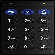 Mobotix Keypad mit RFID-Technik für T26, schwarz