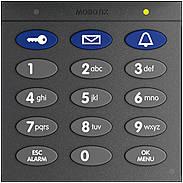 Mobotix Keypad mit RFID-Technik für T26 dunkelgrau
